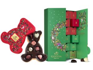 Godiva Advent Calendar.Godiva The Belgian Chocolatier Created New Delicious Christmas